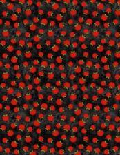 Wilmington The Way Home by Jennifer Pugh 82501 937 Black Apple Cotton Fabric