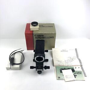 Canon Auto Bellows - FD Mount original Box, Macro Coupler, Double Cable Release