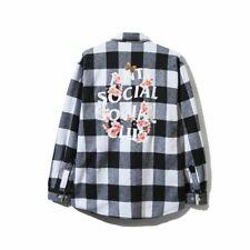 Anti Social Social Club Kkoch White Flannel Floral Size S M L XL