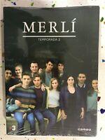 MERLI SEGUNDA 2ª TEMPORADA 2 NUEVA PRECINTADA 4 x DVD V.O CATALAN SUB ESPAÑOL 3T