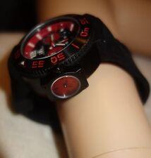 ADEE KAYE Combat Quartz Chronograph Dual Time Zone AK8005 Men's Watch NEW