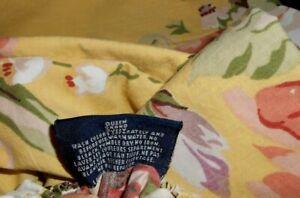 3pc Ralph Lauren Sophie Brooke QUEEN Deep Fitted sheet + Pillowcases SET