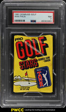 1981 Donruss Golf Wax Pack PSA 7 NRMT (PWCC)