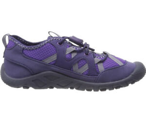 Merrell Kid's Girls Hydro Cove Water Shoes,Multicolour (Purple),Size UK 3M EU35M