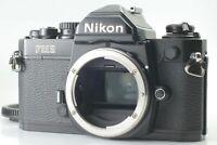 【NEAR MINT】 Nikon New FM2 FM2N Black body 35mm SLR Film Camera From Japan