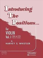 Introducing the Positions for Violin : Third and Fifth Positions, Paperback b...