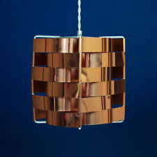 Max Sauze - Rare Copper 'Mars' Pendant Hanging Lamp - 1960s-1970s Vintage Retro