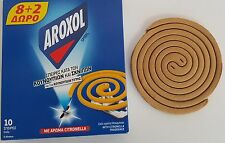 Coils with Citronella Fragrance Incense for Mosquito (& Tiger) Midges - 10 pack