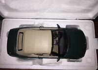 1/18 KYOSHO 80430009757 BMW 3-SERIES (E46)328i CABRIO 1998 GREEN MET