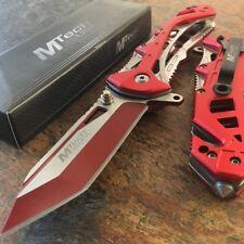 MTA997BRD Couteau de Pompier Sécurité Civile Mtech A/O Brise Vitres Coupe Ceintu