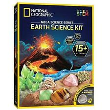 NATIONAL GEOGRAPHIC Earth Science Kit - Over 15 Science Experiments & STEM Activ