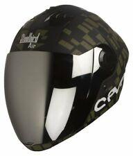 Steelbird Air Sba-2 Full Face Seven Motorcycle Matt Black Army Green Helmet-60cm