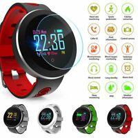 Bluetooth Women Men Smart Watch Blood Pressure Fitness Tracker Sport Wristband