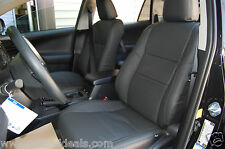 2013 2014 2015 2016 2017 Toyota RAV4 LE KATZKIN LEATHER SEAT REPLACEMENT COVERS