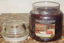 Yankee Candle Cranberry Chutney 14.5 oz GLASS Jar Housewarmer Candle NEW RARE