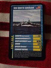 Top Trumps Super Card 6 USS North Carolina Warships