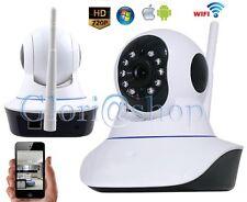 TELECAMERA IP CAMERA HD 720P WIRELESS LED H.264 IR LAN MOTORIZZATA RETE INTERNET