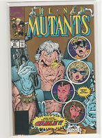 NEW MUTANTS #87 1st appearance Cable Rob Liefeld gold metallic ink variant 9.2