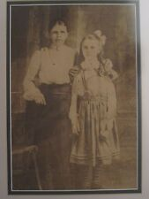 ANTIQUE VICTORIAN LARGE PHOTO ON SILK RARE MUSEUM QUALITY HISTORY OF PHOTOGRAPHY