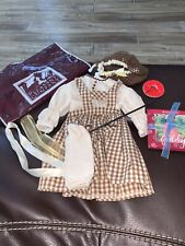 American Girl Addy Doll 1995 Birthday Pinafore Blouse Pleasant Company Retired