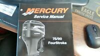 MERCURY SERVICE MANUAL O/B 75/90 Hp FOURSTROKE JAN: 2001 STARTING S/N: 0G960500