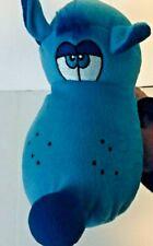 Toy Factory Plush Dog Blue Stuffed Animal 2015