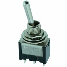 On-(On) Momentary Miniature Mini Toggle Switch SPDT