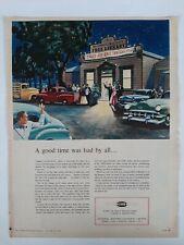 Vintage Australian advertising 1955 ad GMH GENERAL MOTORS HOLDEN CARS dance art