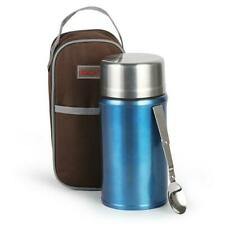 Insulated Food Thermos 1000ml Hot Soup Container Stainless Vacuum Lunch Box Jar