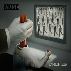 MUSE - DRONES CD (2015, Warner Bros.) *BRAND NEW* *FACTORY SEALED* *SHIPS ASAP*