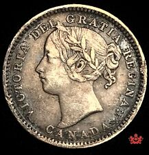1898 Canada 10 Cents - Obv6 - VF/EF - Lot#272