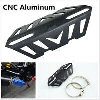 Adjustable CNC Aluminum Motorcycle Mid Exhaust Pipe Crash Protector Heat Shield