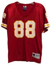 Tony Gonzalez #88 Vintage Champion Kansas City Chiefs Jersey Youth 10-12 Medium