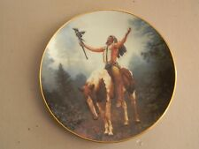 Mystic Warrior Collector Plate- Deliverance - By Chuck Ren- 1992