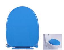 New Blue Short U-Shape Resin Bathroom Accessories Toilet Seat Toilet Cover *