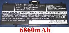 Batterie 6860mAh type SP4175A3A SP4175A3A(1S2P) Pour SAMSUNG Galaxy Tab 10.1