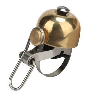 Tourbon Bike Handlebar Ring Bells Bicycle Horn Loud Copper Bell Classic Cycling