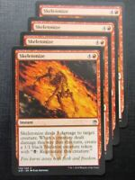 Skeletonize x4 - Masters 25 - Mtg Card # 10B35