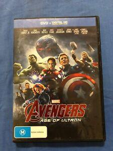 Marvel Avengers Age Of Ultron - Chris Hemsworth - DVD - Region 4 - Free Postage