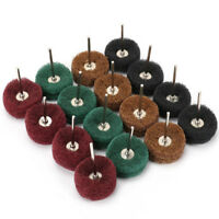 1.5 Inch Abrasive Buffing Wheel Polishing Brush Set For Rotary Tool 40Pcs