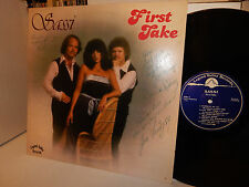 SASSI FIRST TAKE DEE DEE ROBBINS GENE FARINGTON RICH MICK AUTOGRAPHED SIGNED LP