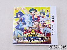 Yu-Gi-Oh! Zexal Gekitotsu Duel Carnival Nintendo 3DS Japanese Import US Seller A