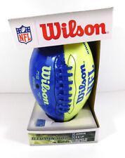 2013 Wilson Nfl Illuminator Junior Size Glows in the Dark Football in box