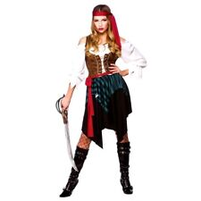Caribbean Pirate UK 26-28 Ladies Fancy Dress Adult Plus Size Womens Costume  sc 1 st  eBay & Buy Womenu0027s Pirate Fancy Dress | eBay