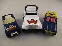 Vintage Retro Corgi & Majorette 1970's & 80's Jeep Bundle