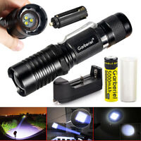 90000 Lumens zoomable 3x t6 5modes led 18650 ulrta bright flashlight torch light
