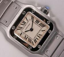 Cartier Lady Santos Galbee 1565 Stainless Steel 23mm Watch-Roman Numeral Dial