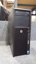HP Z420 Workstation Intel Quad E5-1620 3.6GHz 500GB 24GB DVDRW V4900 W10 PRO OS