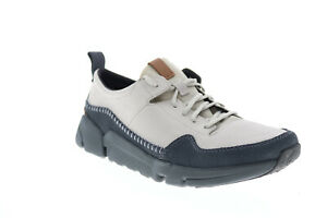 Clarks Triken Run 26134842 Mens Gray Nubuck Lifestyle Sneakers Shoes