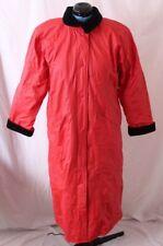 Misty Harbor 2268 PVC Snap Flannel Lined Rain Trench Jacket Coat Men's M